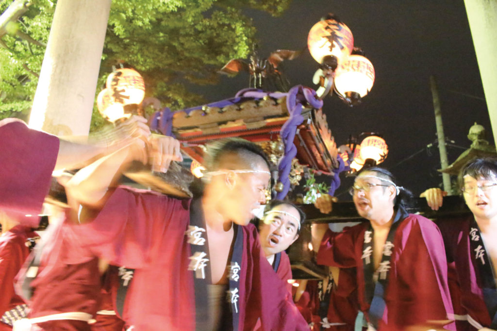 Traditional autumn festival preserved in Koriyama-city, Fukushima