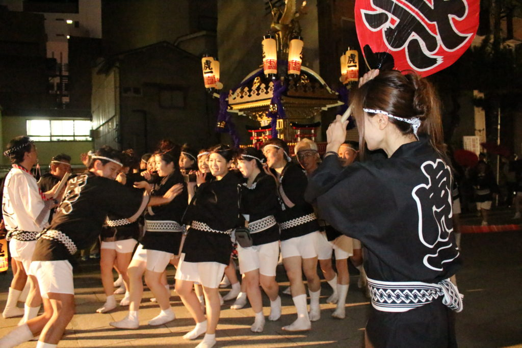 Traditional autumn festival preserved in Koriyama-city, Fukushima
