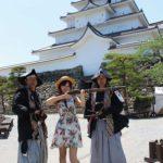 Tsuruga-jo/ Aizu Wakamatsu-jo (Castle) in Aizu Wakamatsu City