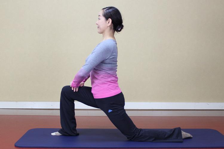 ラウンジ&股関節と腸腰筋ストレッチ(下半身)