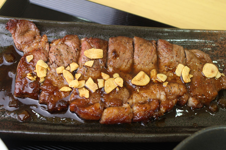 ビーフステーキ定食