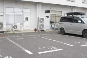 美men 駐車スペース