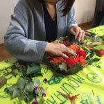 生花で《収穫祭》アレンジメント