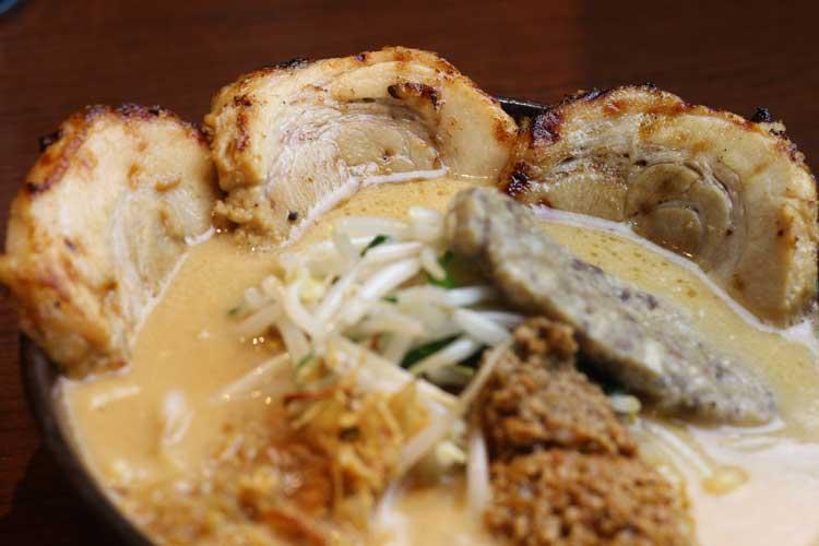 仙台味噌炙りチャーシュー麺