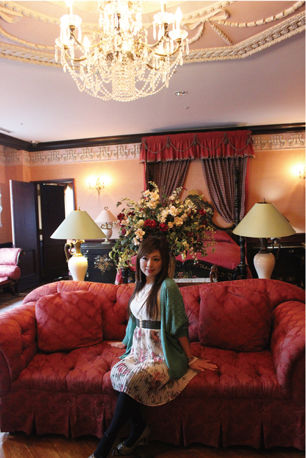 荘園領主の部屋