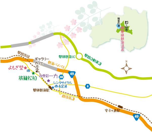 磐梯熱海 マップ