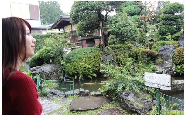 智恵子記念館 お庭