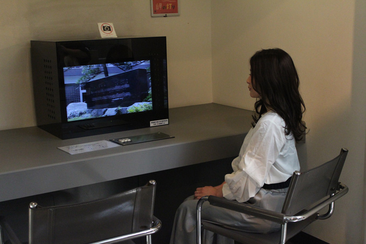 古関裕而記念館 ビデオコーナー