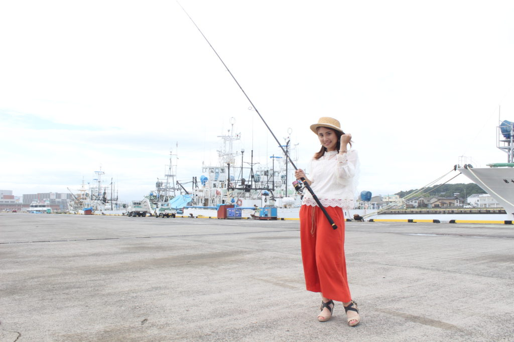 小名浜港エリアで釣り①