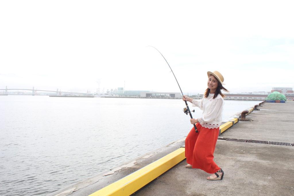 小名浜港エリアで釣り②